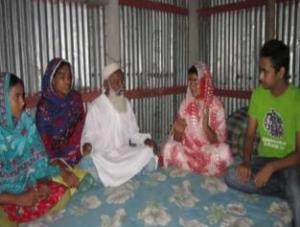 Discussions with family to prevent child marriage