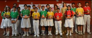 Gurkul Students presented autobiographies of Gandhiji