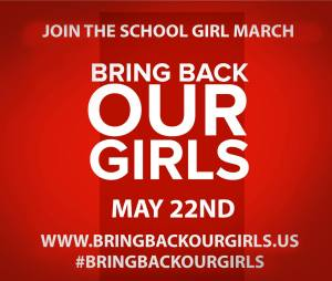 #BringBackOurGirls marches on the 22nd of May, calling all female students