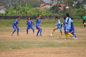 Samphos Playing Football